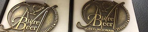 Deux médailles d'or pour la Gose et la Porter Baltique!