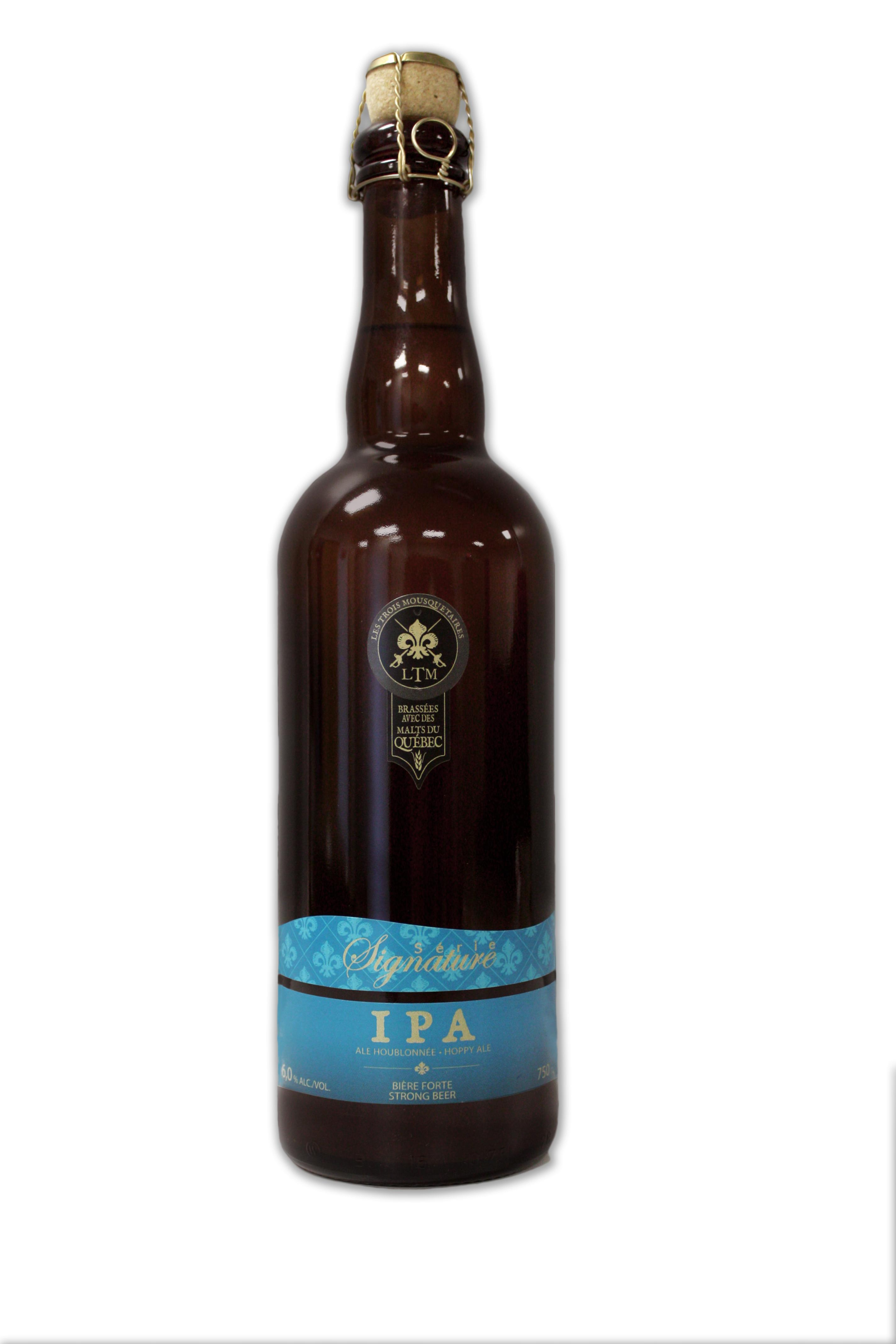 Première distribution de la IPA ... en bouteilles!