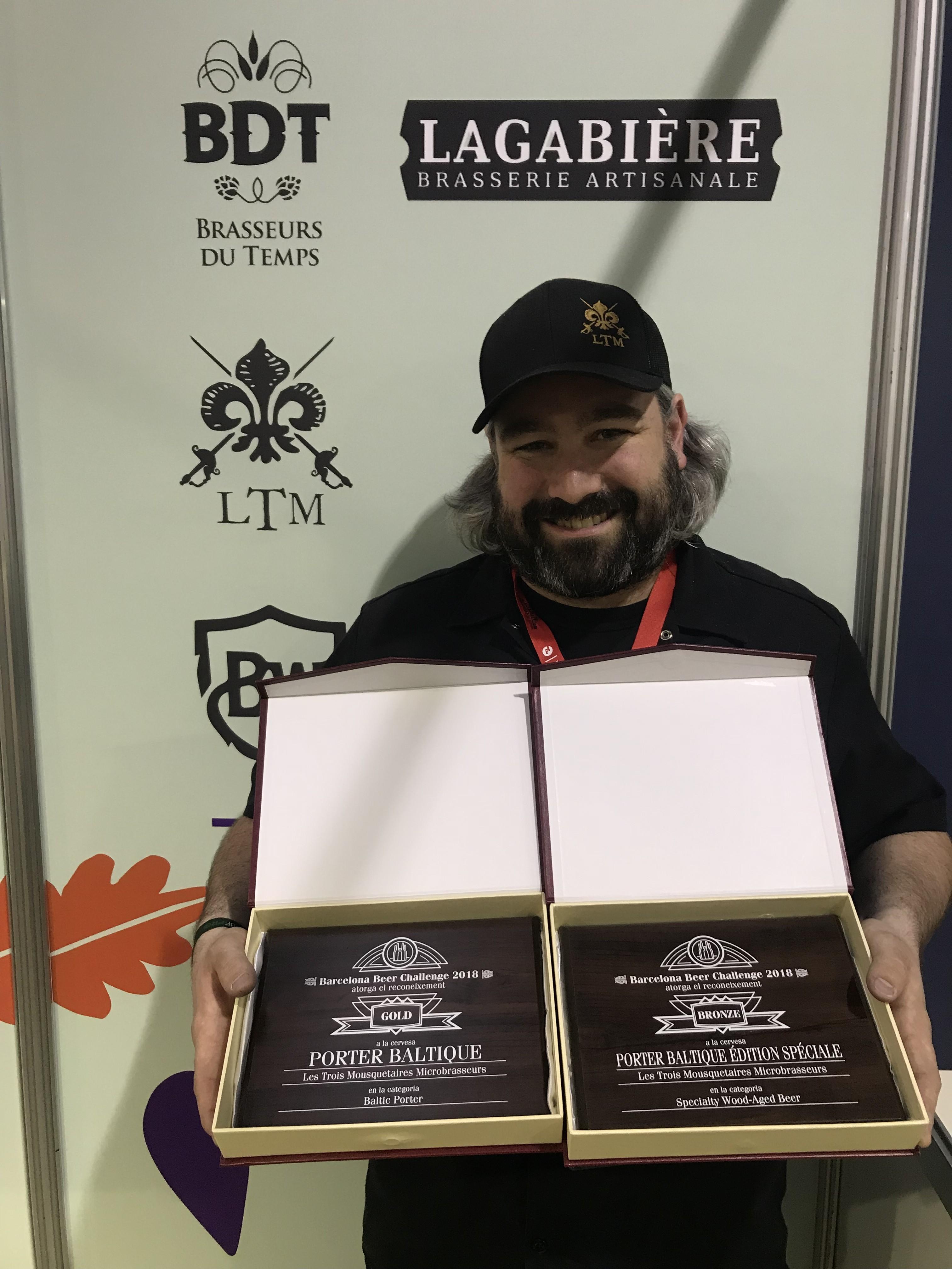 Deux médailles au Barcelona Beer Festival !