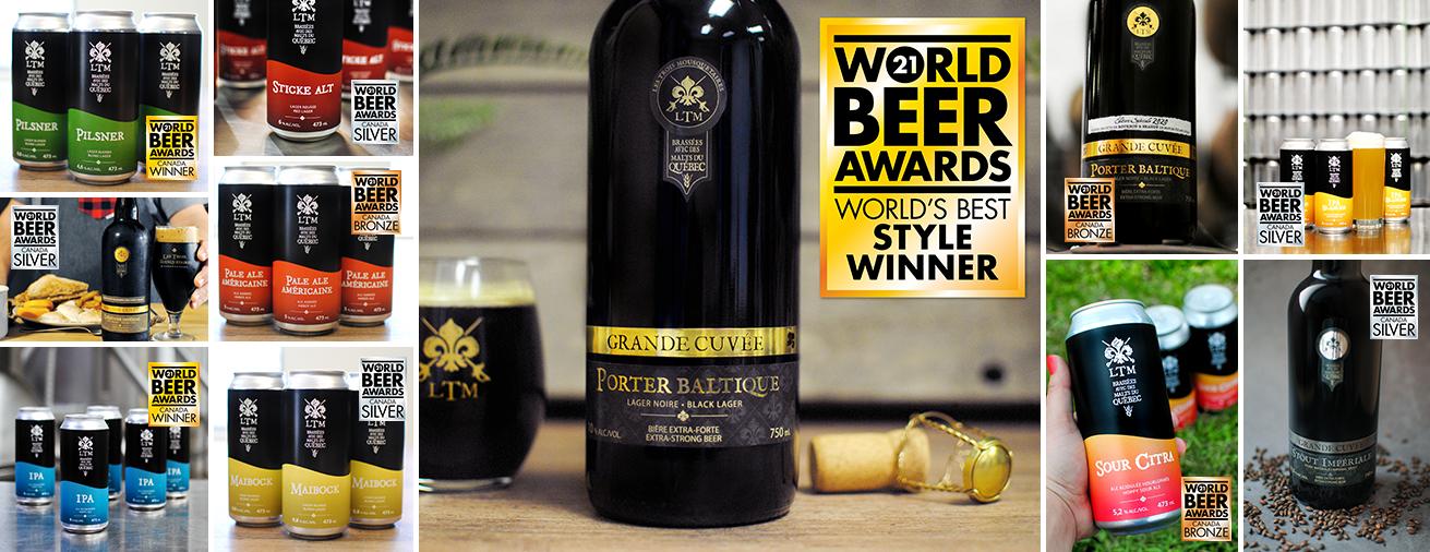 LTM honoré au World Beer Award